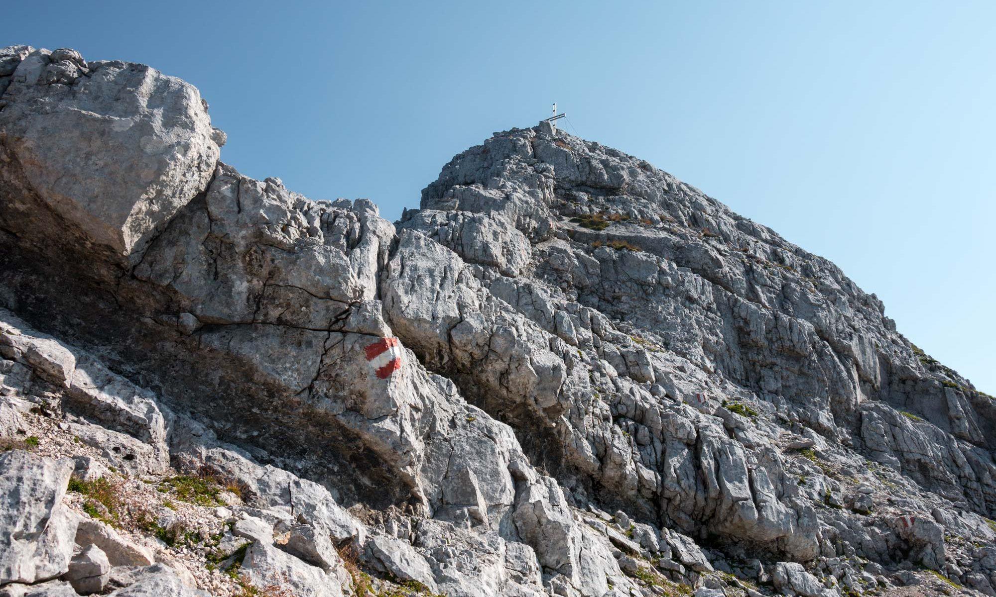 Hochtor 2369m Gipfelfels (2015.08.09)