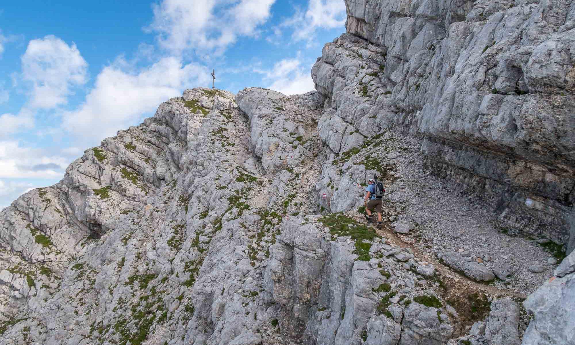 Rotgschirr 2261m - am Gipfel (2016.07.30)
