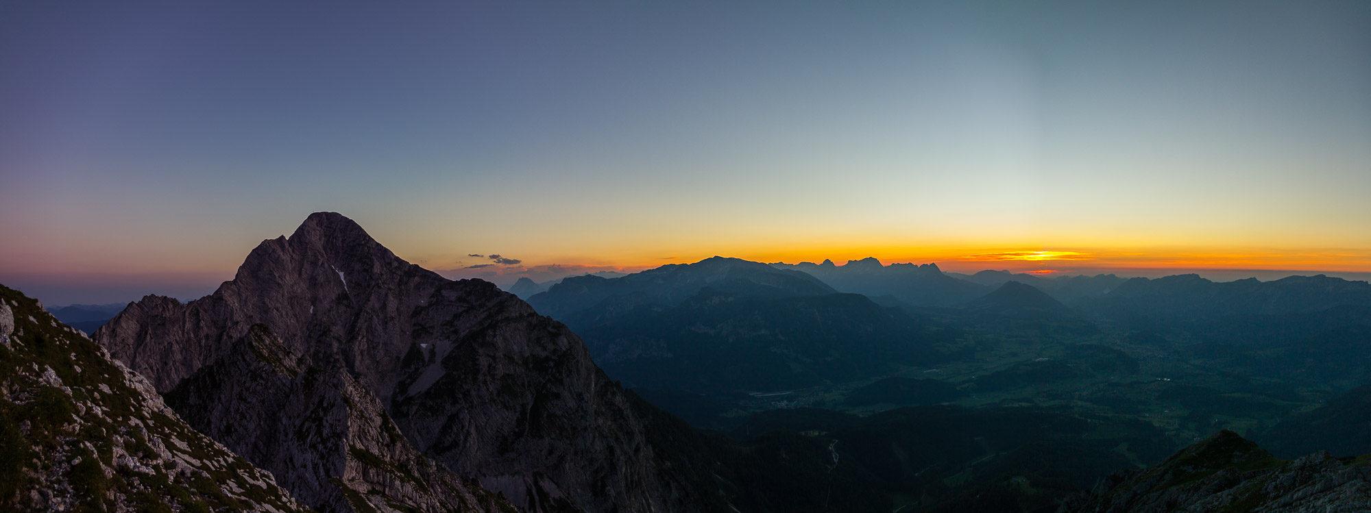 Gr. Pyhrgas - Sonnenuntergang