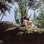 mit den Eltern am 28. Juli 2002