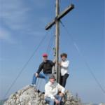 mit den Eltern am 9. April 2007
